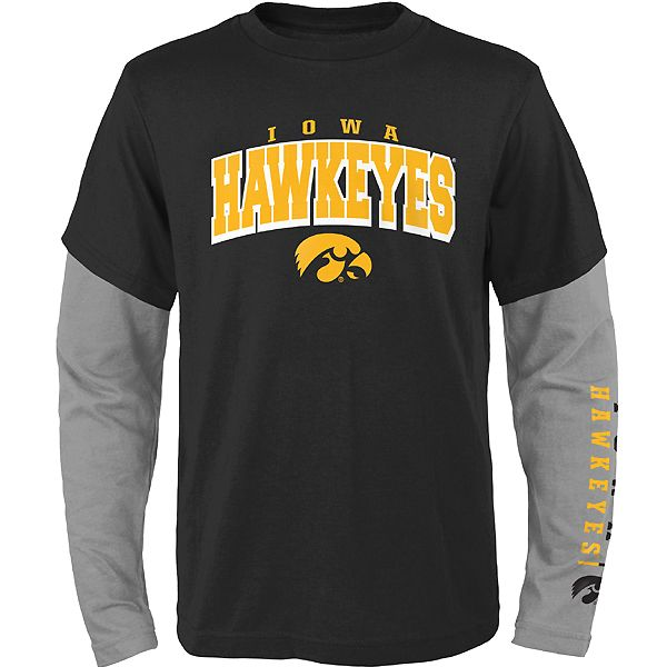 Iowa Hawkeyes Kids Club 3 in 1 Combo Tee