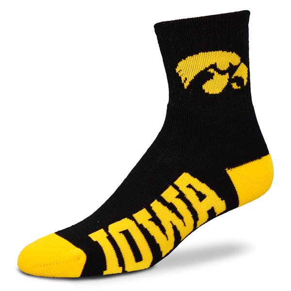 Iowa Hawkeyes Youth Logo Sock