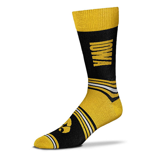 Iowa Hawkeyes Go Team Socks