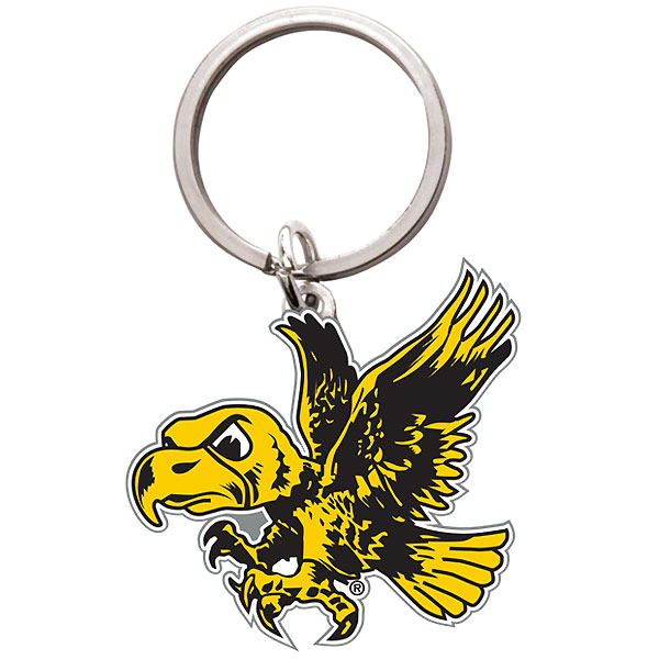 Iowa Hawkeyes Flying Herky Key Chain