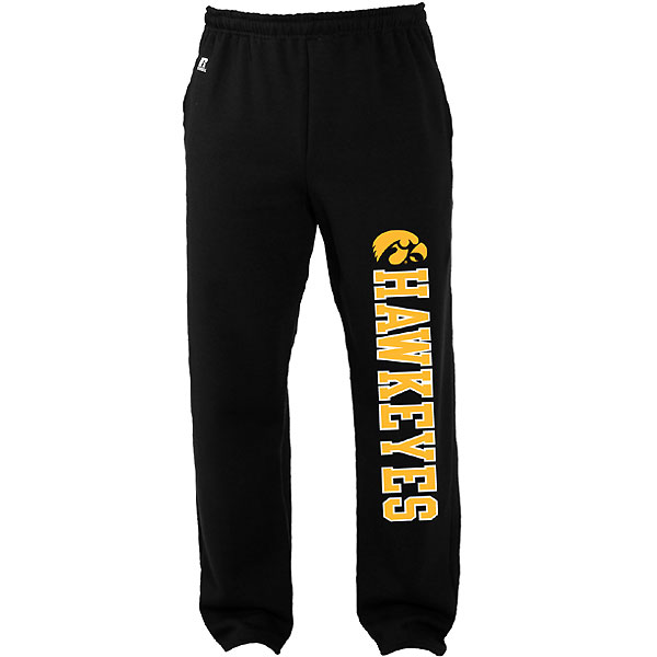 Iowa Hawkeyes Youth Open Bottom Pants