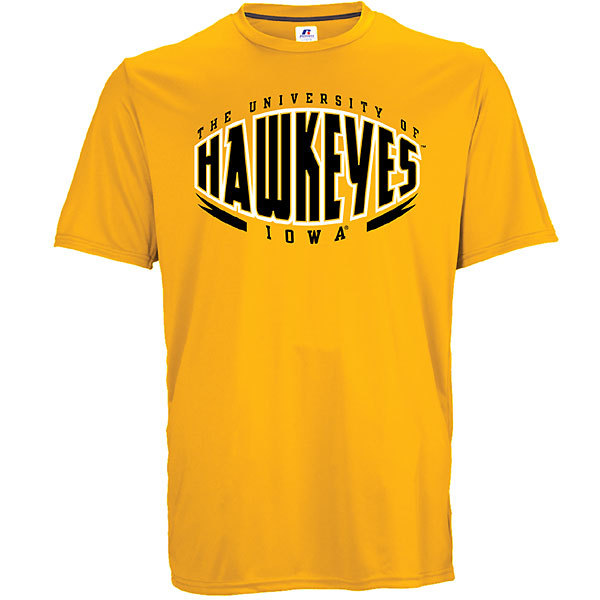 Iowa Hawkeyes Core Performance Tee