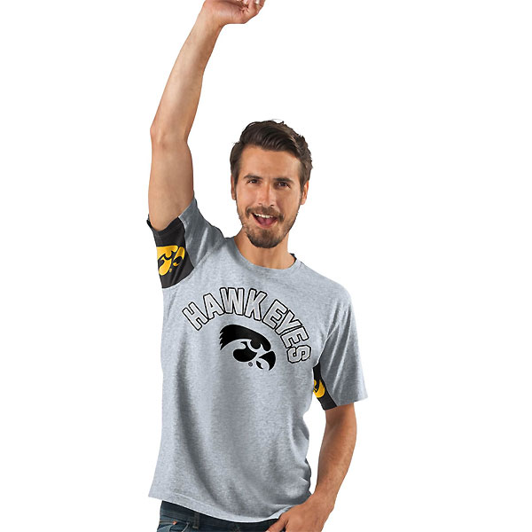 Iowa Hawkeyes Heavy Hitter Tee