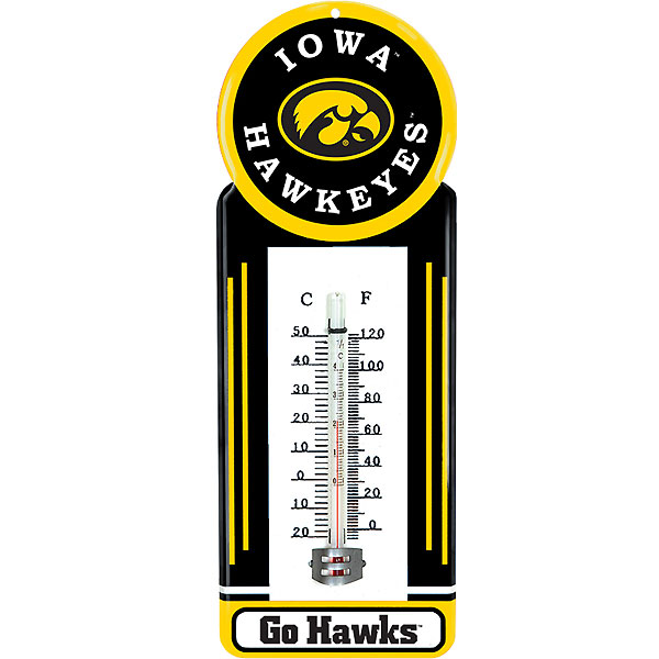 Iowa Hawkeyes Thermometer
