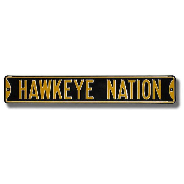 Iowa Hawkeyes Domination Drive Street Sign