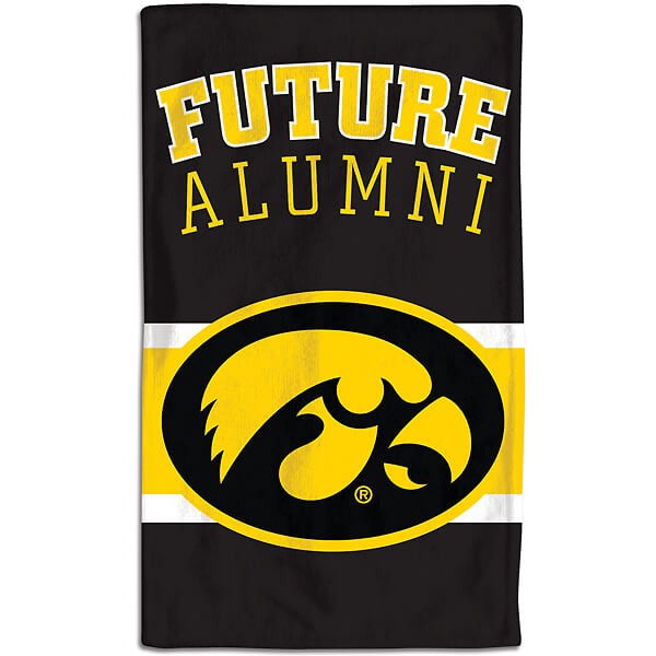 Iowa Hawkeyes Burp Cloth