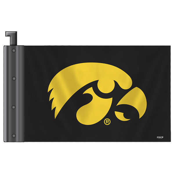 Iowa Hawkeyes Antenna Flag