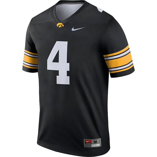 Iowa Hawkeyes #4 Football Jersey