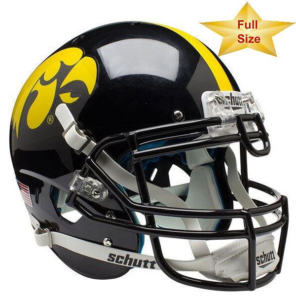 Iowa Hawkeyes Authentic Helmet