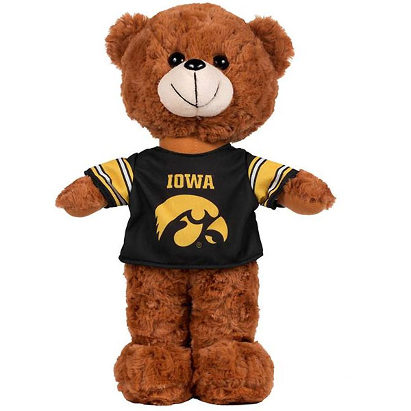 Iowa Hawkeyes Fuzzy Uniform Bear