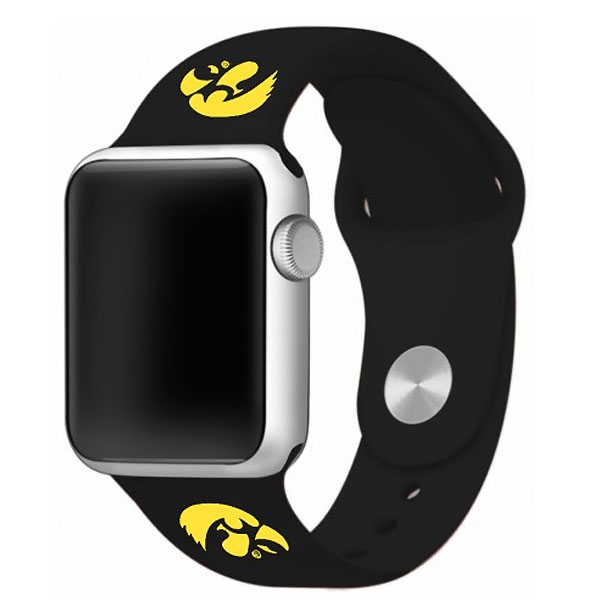 Iowa Hawkeyes Silicone Watchband