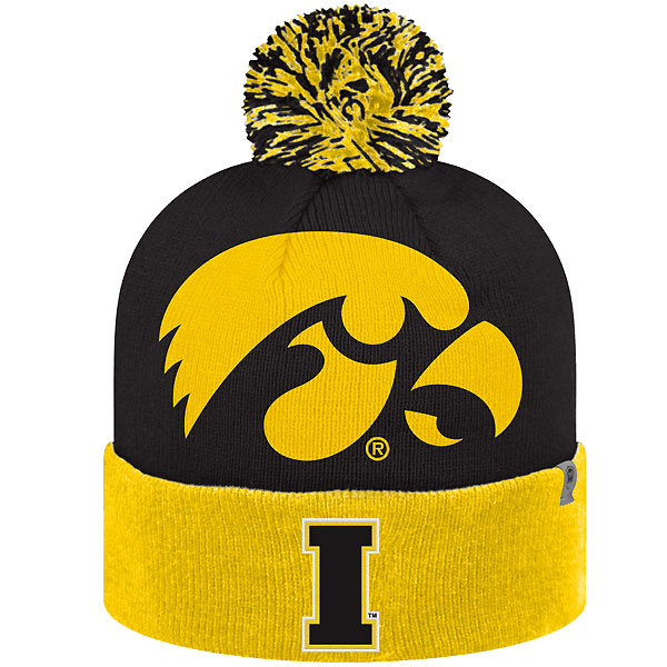 e0c5e2c5750d6 Iowa Hawkeyes Blaster Stocking Cap