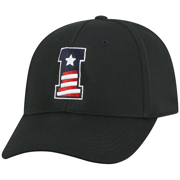 "Iowa Hawkeyes ""I"" Logo Patriotic Hat"