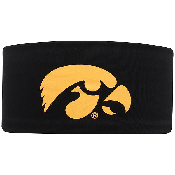 Iowa Hawkeyes Bow Headband