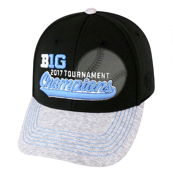 Iowa Hawkeyes Baseball 2017 Big10 Champions Hat