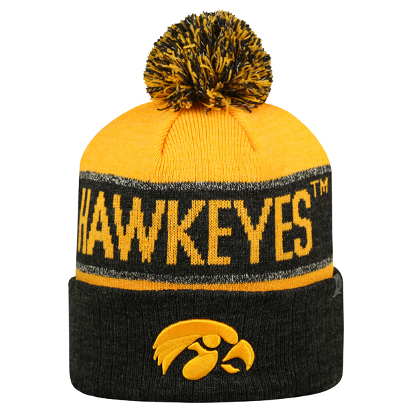 Iowa Hawkeyes Below Zero Stocking Cap