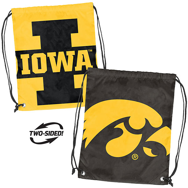Iowa Hawkeyes Double Header Backpack