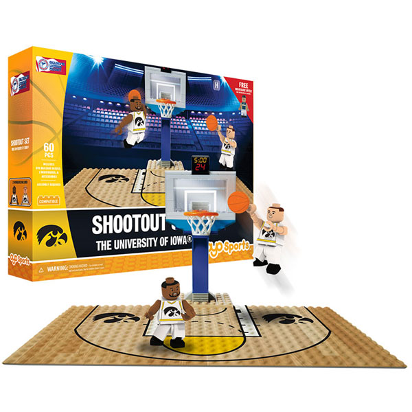 Iowa Hawkeyes Basketball Shootout Set