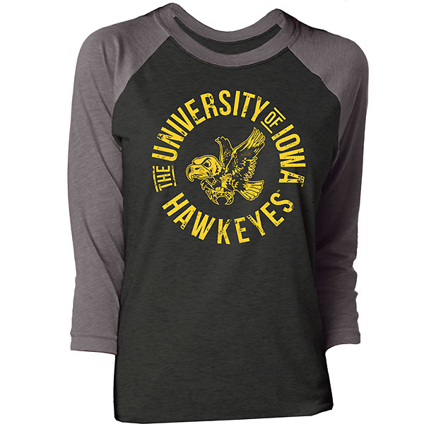 Iowa Hawkeyes Women's Candace Top