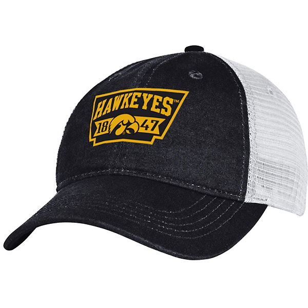 "Iowa Hawkeyes BIG Trucker Meshback ""1847"" Cap"