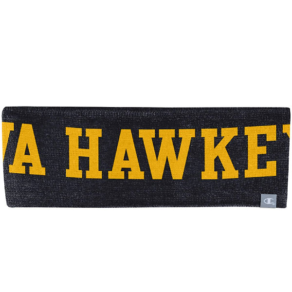 Iowa Hawkeyes Knit Headband