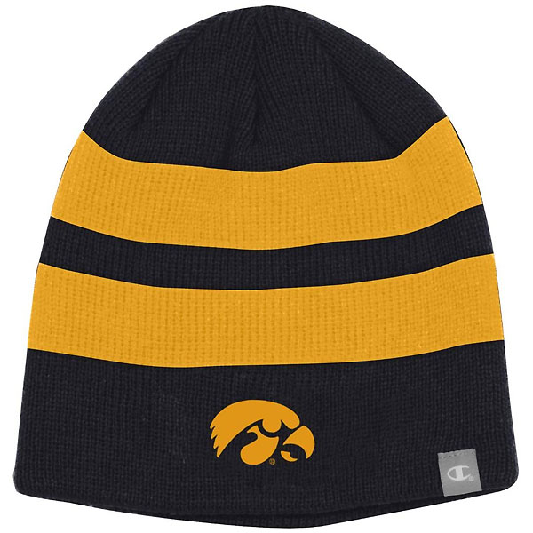 Iowa Hawkeyes Two Color Beanie