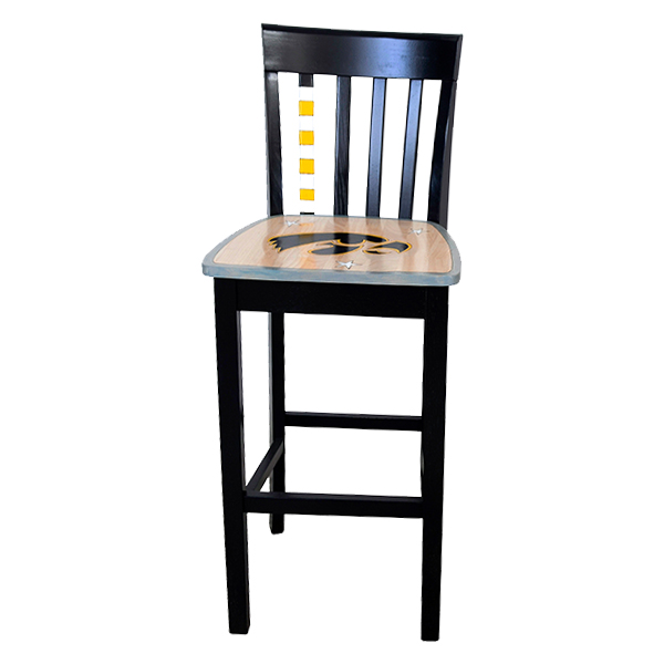 Iowa Hawkeyes Custom Art Chair