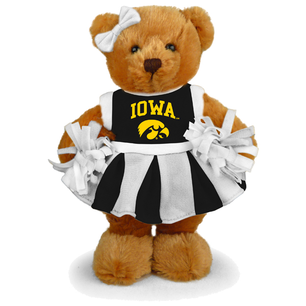 Iowa Hawkeyes Cheerleader Bear