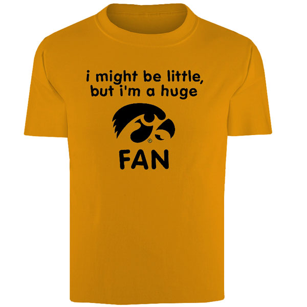 Iowa Hawkeyes Toddler Little Fan Tee