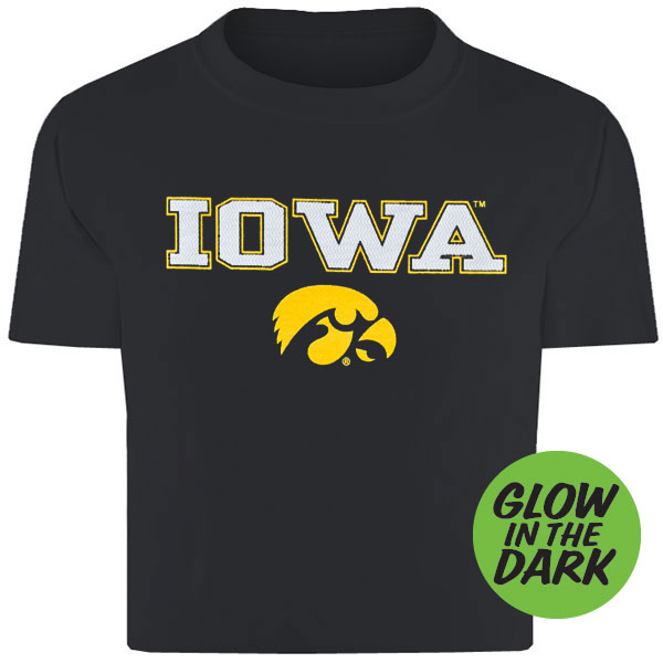 Iowa Hawkeyes Infant Black Tee