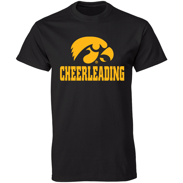 Iowa Hawkeyes Cheerleading Tee