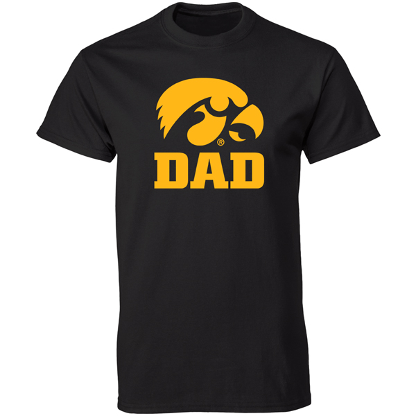 Iowa Hawkeyes Dad Tee