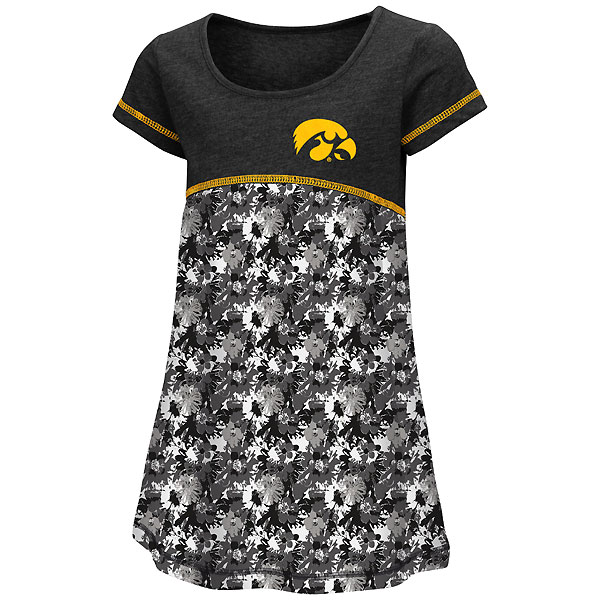 Iowa Hawkeyes Toddler Fountain Dress