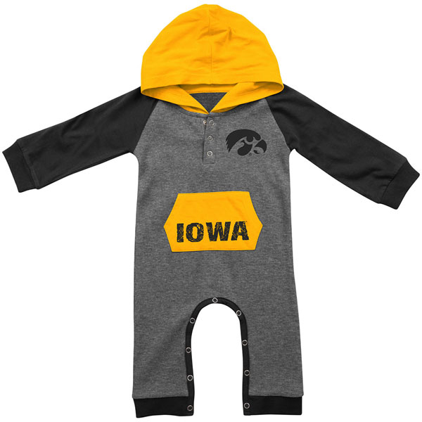 Iowa Hawkeyes Infant Robin Hood Onesie