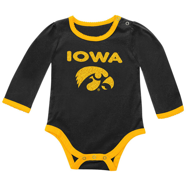 Iowa Hawkeyes Infant Ragin Onesie