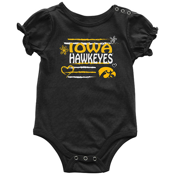 Iowa Hawkeyes Infant Friends Onsie