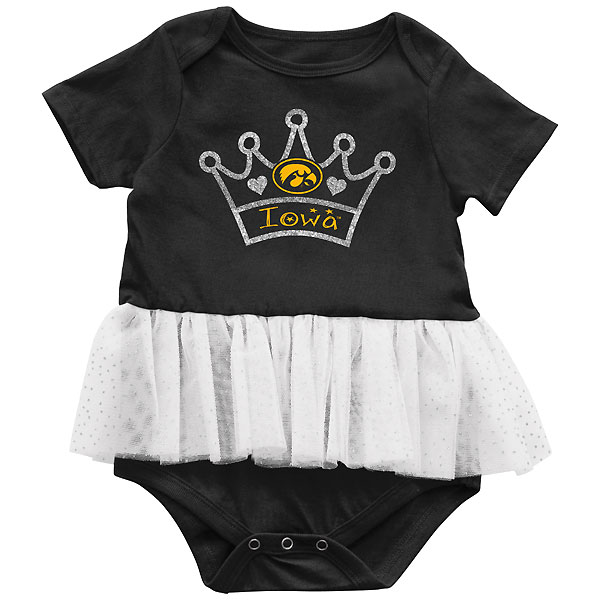 Iowa Hawkeyes Infant Consuela Tutu Onsie