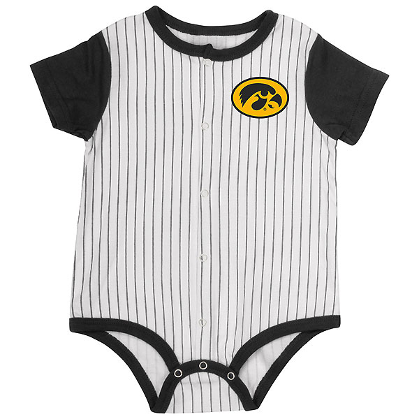 Iowa Hawkeyes Infant Boys Sultan Of Wat Baseball Onesie