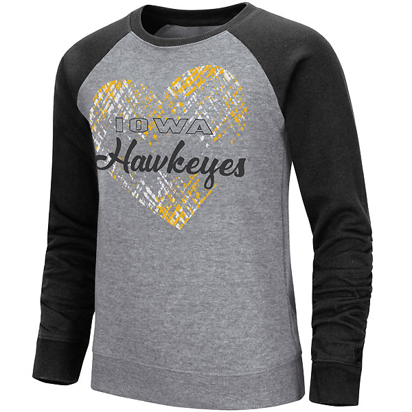 Iowa Hawkeyes Youth Girls Camilla Fleece