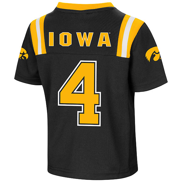 Iowa Hawkeyes Toddler Foos-Ball Jersey