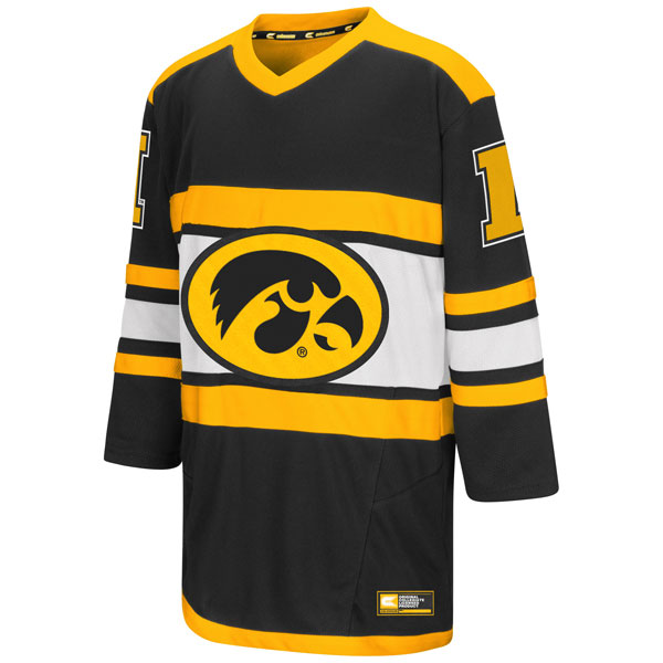 Iowa Hawkeyes Youth Open Net II Hockey Sweater