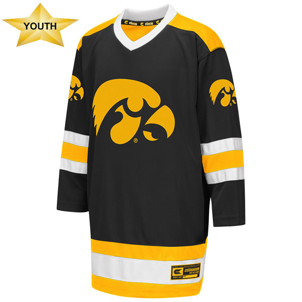 Iowa Hawkeyes Youth Hockey Sweater