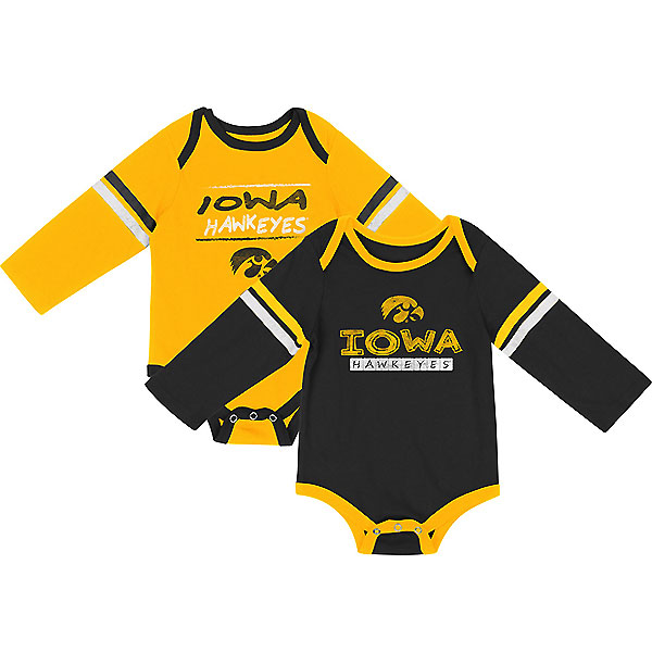 Iowa Hawkeyes Infant Ice Cream 2-Pack Onesie