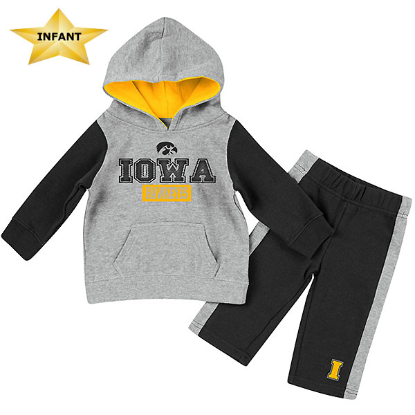 Iowa Hawkeyes Infant We Got This Fleece Set