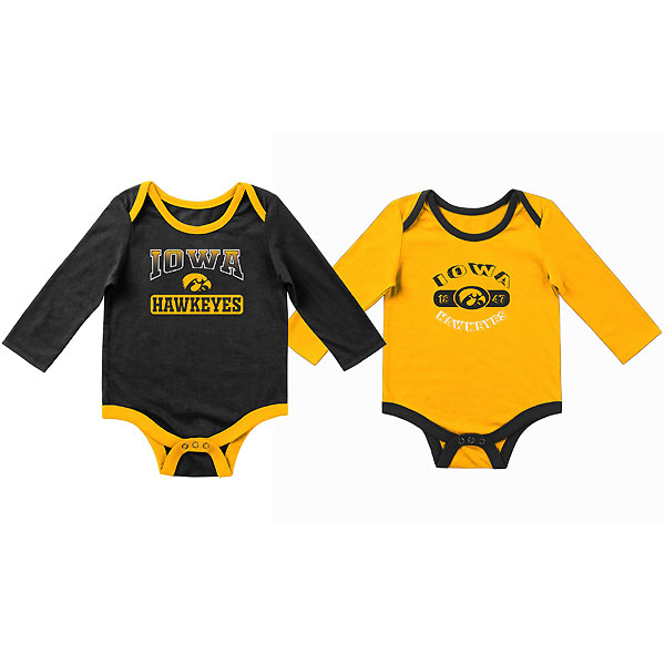 Iowa Hawkeyes Infant 2 Pack Onesie