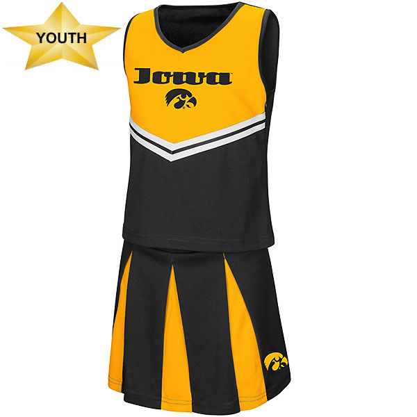 Iowa Hawkeyes Youth Pom Pom Cheer Set