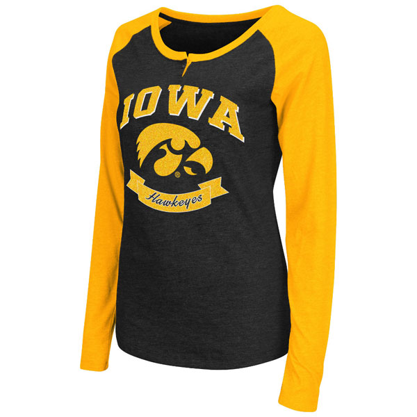 Iowa Hawkeyes Women's Healy Tee