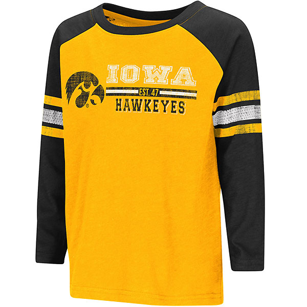 Iowa Hawkeyes Toddler Hidden Cavern Tee