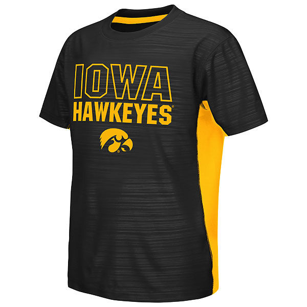 Iowa Hawkeyes Youth Vault Cut/Sew Tee