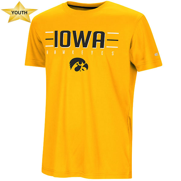 Iowa Hawkeyes Youth Anytime Anywhere Tee